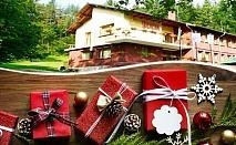 Коледа в Априлци! 3 нощувки на човек със закуски и 2 вечери + сауна само за 99 лв. в хотел Велена