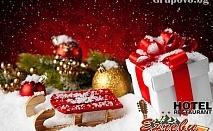 Коледа в Родопите. 2 или 3 нощувки със закуски и ПРАЗНИЧНИ вечери + джакузи в Хотел Енчеви.