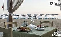 Last Minute почивка на Халкидики, Ситония! 7 нощувки със закуски и вечери в хотел Across Coral Blue 3* + транспорт, от Солвекс