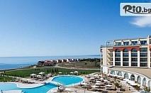 Луксозна лятна почивка край Балчик! Нощувка със закуска + вътрешен и външен басейн, чадър и шезлонг на плажа, шатъл и СПА, от Лайтхаус Голф и СПА