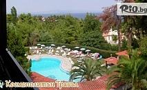 Лятна почивка на Халкидики! 5 нощувки със закуски и вечери + външен басейн в Kassandra bay hotel, от Космополитън Травъл