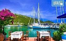 Лятна почивка на остров Лефкада на супер цена! 5 нощувки със закуски в хотел 3* в Нидри, транспорт и водач