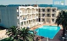 Лятна почивка на супер цена в Stavros Beach Hotel в Ставрос! 7 нощувки със закуски и вечери, възможност за транспорт