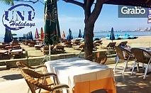 Лято в Албания! 7 нощувки със закуски и вечери в хотел Edart 3* - на първа линия на плажа в Дуръс