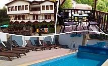 Лято в Мелник! Нощувка на човек със закуска и вечеря + басейн от хотел Марио