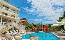 Лято на 50м. от плажа в Свети Влас! Нощувка на човек със закуска и вечеря + басейн от хотел Панорама***