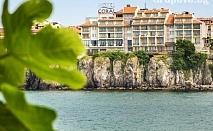 Май в Созопол! Нощувка за двама, трима или четирима със закуска и вечеря + басейн от хотел Корал на метри от плажа