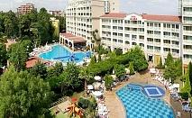 На 100 метра от плажа! Нощувка на човек на база All inclusive + 2 басейна и анимация в хотел Алба****, Слънчев Бряг. Дете до 12г. - БЕЗПЛАТНО