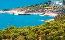 Мини почивка на изумрудения остров Тасос, Гърция, на дата по избор с България Травел! 3 нощувки със закуски и вечери в хотел 3*, транспорт, ферибот