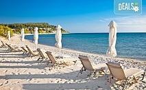 Мини почивка за Септемврийските празници в Пефкохори! 3 нощувки със закуски и вечери, транспорт и посещение на Солун