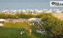 На море в Гърция, Олимпийска Ривиера! 5 нощувки със закуски и вечери на брега в Хотел Thermaikos със собствен пясъчен плаж, от Мисис Травъл