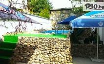 На море в Китен! 2 или 3 нощувки със закуски, обеди и вечери за двама + басейн с шезлонги и чадъри, от Семеен хотел Грийн Палас