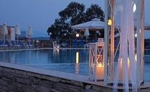 На море в разгара на Лятото със закуска и вечеря с безплатни напитки в хотел Aristoteles Holiday Resort Spa- Атон / 01.07. - 05.08.2017