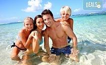 Наем за една нощувка на вили Alexandros или Danae в непосредствена близост до плажа с капацитет до 7-8 човека