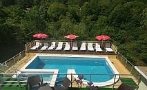 Наем на самостоятелна къща с капацитет 22 човека + басейн, барбекю и механа от къща за гости Шипково Хилс, с. Шипково