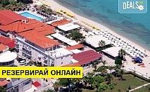 Нощувка на база Закуска и вечеря,All inclusive в Hanioti Grand Hotel 4*, Ханиоти, Халкидики
