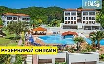 Нощувка на база Закуска и вечеря,All inclusive в Theoxenia Hotel 4*, Уранополис, Халкидики