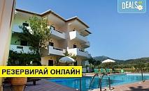 Нощувка на човек на база Закуска в Hotel Odyssion 3*, Василики, о. Лефкада