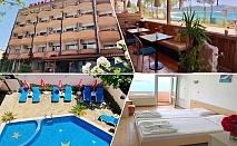 Нощувка на човек в двойна стая с изглед море + закуска в хотел Пловдив, Приморско