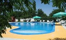 Нощувка на човек със закуска + басейн в хотел Анкор, Кранево