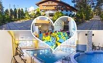 Нощувка на човек със закуска + басейн и релакс зона в хотел Борова гора, Пирдоп