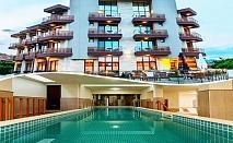 Нощувка на човек със закуска + басейн и СПА в НОВИЯ хотел Алиса,  Павел Баня