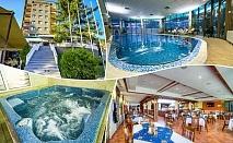 Нощувка на човек със закуска + открит и закрит топъл басейн и СПА зона в СПА хотел Девин****