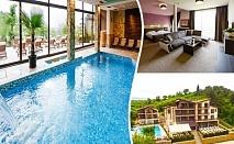 Нощувка на човек със закуска и вечеря + басейн и джакузи с МИНЕРАЛНА вода в НОВИЯ хотел Огняново СПА***