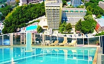 Нощувка на човек със закуска и вечеря + басейн и СПА в хотел Шипка 4*, к.к. Златни Пясъци.
