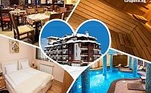 Нощувка на човек със закуска, вечеря по избор + басейн, релакс пакет и трансфер до ски лифта от хотел Орбилукс***, Банско