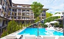 Нощувка за 2, 4 или 6 човека + басейн в комплекс Грийн Парадайс, Приморско