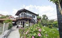 Нощувка за 4, 9 или 13 човека в Добринище - къща за гости Оазис с лятно барбекю, собствена механа, цветна градина и още!