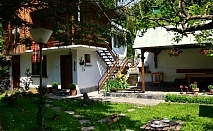Нощувка за 6 човека в Калофер във вила Маркиза с лятно барбекю, китен двор и още!