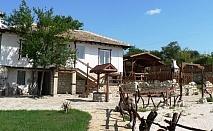 Нощувка за 6, 12 или 18 човека + механа, външно барбекю и детски кът в комплекс Каменни двори - с. Генерал Киселово - Варна