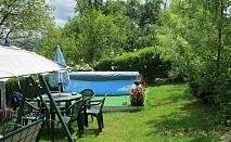 Нощувка за 12 човека във вила Дива - Априлци с басейн, барбекю и още много удобства.