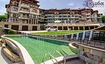 Нощувка за двама, четирима или шестима + басейн в хотелски комплекс Гардън Палас, Балчик