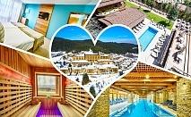 Нощувка за ДВАМА със закуска + 2 масажа, арома или флотационна вана и бамбуков ритуал + басейн с минерална вода в  Катарино СПА Хотел, до Разлог