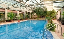 Нощувка или нощувка със закуска  + ползване на плувен басейн с минерална вода и СПА от Хотел Бац, Петрич