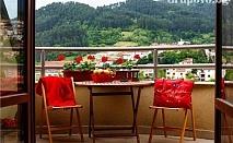 Нощувка със закуска + сауна, релакс зона и частичен масаж в Маунтин Бутик Хотел и СПА, Девин