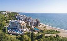 2 нощувки на човек + басейн, шезлонг и чадър на плажа от хотел Марина Сендс**** на 50м. от морето в Обзор