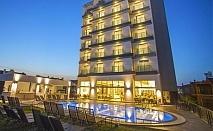 7 нощувки на човек на база All inclusive на първа линия + басейн и СПА + чадър и шезлонг на плажа от хотел Мушо**** в Айвалък