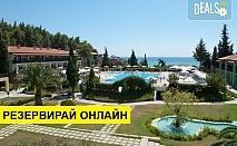 2+ нощувки на човек на база Закуска и вечеря, All inclusive в Simantro Beach Hotel 5*, Сани, Халкидики, безплатно за деца до 1.99 г.