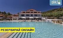 4+ нощувки на човек на база Закуска и вечеря в Lagomandra Beach Hotel 4*, Неос Мармарас, Халкидики, безплатно за деца до 1.99 г.