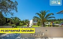 5+ нощувки на човек на база Закуска и вечеря, Закуска, обяд и вечеря в Anna Hotel 3*, Пефкохори, Халкидики