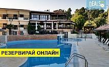 3+ нощувки на човек на база Закуска, Закуска и вечеря в Makednos Hotel 2*, Никити, Халкидики, безплатно за деца до 1.99 г.