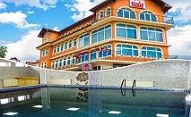 2 нощувки на човек със закуски, обеди и вечери + вътрешен минерален басейн от хотел Сарай до Велинград
