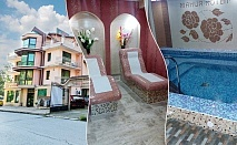 1 или 2 нощувки на човек със закуски и вечери + минерален басейн с джакузи и релакс пакет в хотел Мания, с. Чифлик