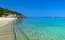 5+ нощувки в самостоятелна вила за до 6 човека с джакузи, на 60м. от морето във Вила Ивет, Паралия Офринио, Гърция