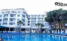 Нова година в Албания! 3 нощувки със закуски и 2 вечери в Хотел Fafa Premium, Дуръс + транспорт и посещение на Скопие и Охрид, от ABV Travels