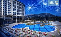 Нова година в Amara Sealight Elite Hotel 5*, Кушадасъ, Турция! 3 или 4 нощувки на база Ultra All Inclusive, Новогодишна вечеря с шоу програма, възможност за транспорт!